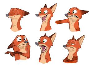 Zootopia character designs