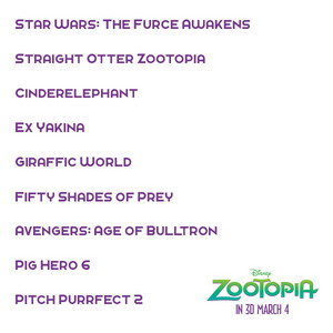 Zootopia's best film of the tahun