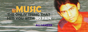 ali sameer quote about موسیقی