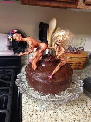 búp bê barbie torte