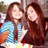 Selena Gomez and Demi Lovato photo probably containing a portrait called demi and selena