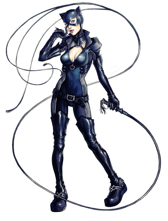 gotham city sirens catwoman par ace ix d59ldjb