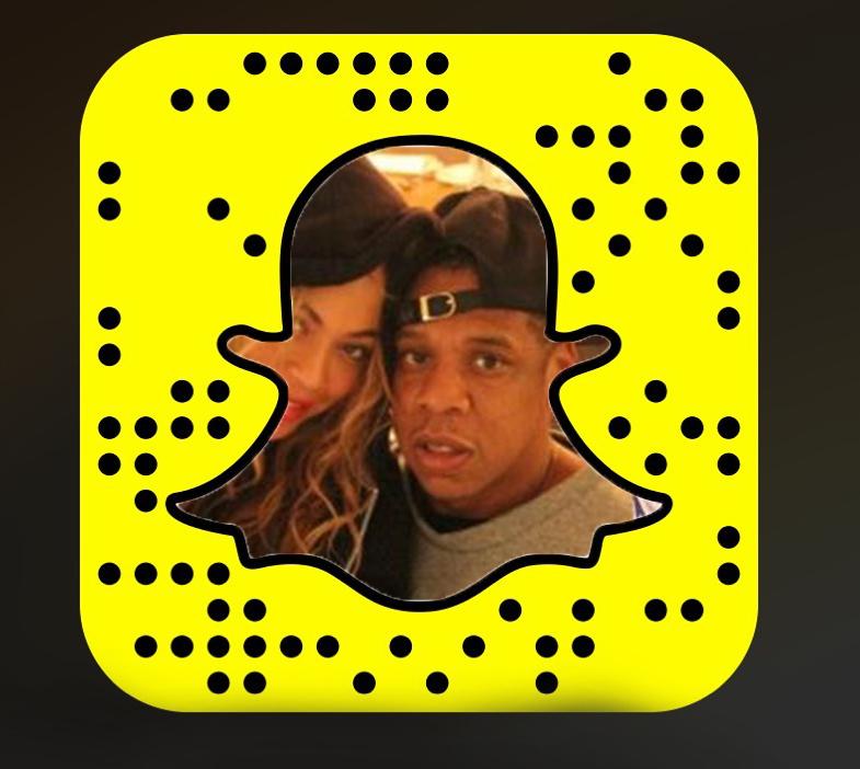 জেই জেড্ Snapchat