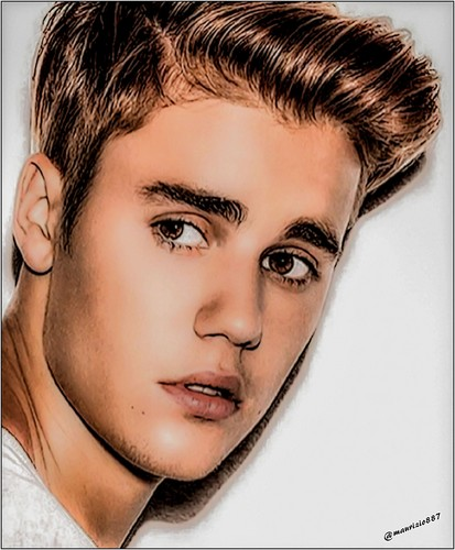 Justin Bieber hình nền with a portrait entitled justin bieber 2016