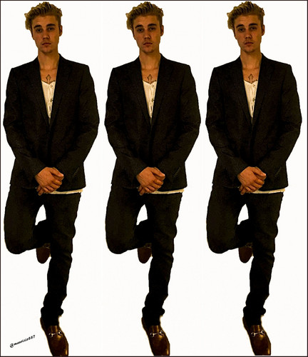 Justin Bieber wallpaper containing a business suit, a suit, and a well dressed person called justin bieber,HappyNewYears 2016