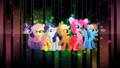 random - my little pony friendship is magic wallpaper