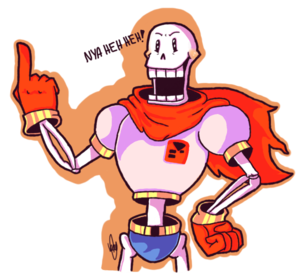 papyrus undertale によって kadoodlewolf d9h479i