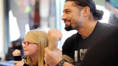 Roman with fans wallpaper and background images in the roman reigns
