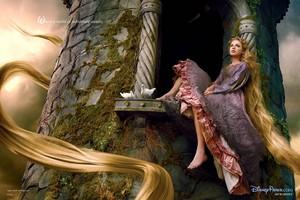 Walt 디즈니 팬 Art - Taylor 빠른, 스위프트 as Princess Rapunzel
