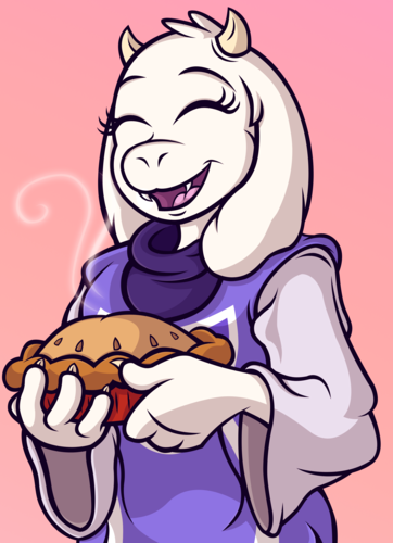 UNDERTALE-The Game wallpaper with anime titled toriel by veggie55 d9dkkmv