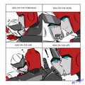 transformers kiss meme  - transformers photo