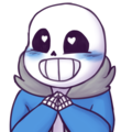 undertale happy sans y da rosadunsparce d9dpur3
