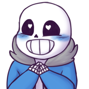 undertale happy sans y Von rosadunsparce d9dpur3