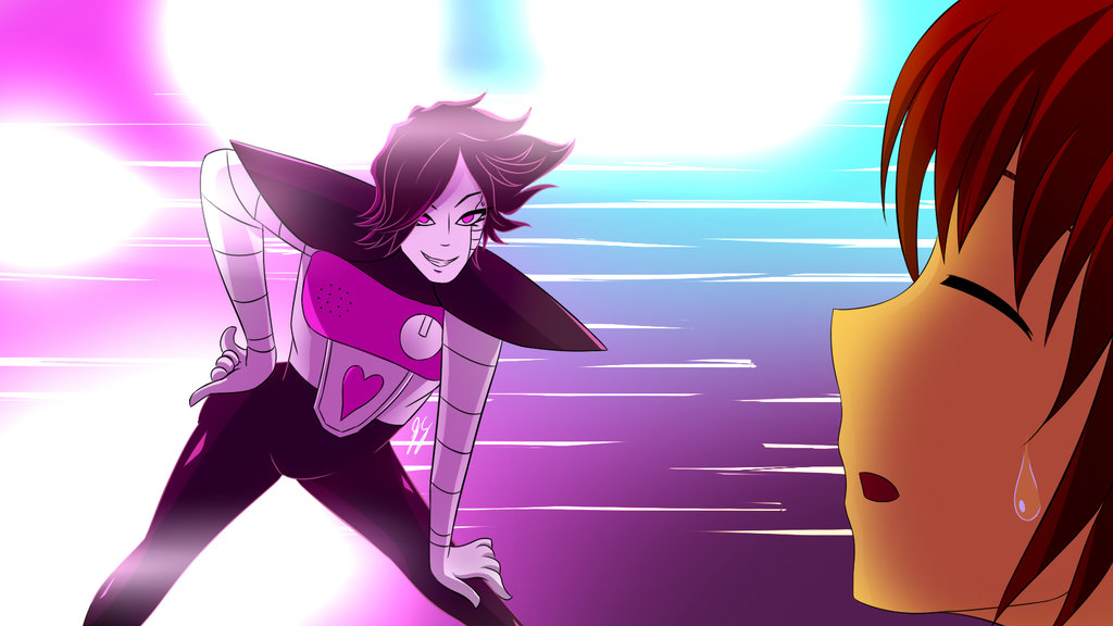 undertale mettaton strikes a pose par dragonbreath7575 d9duj6l