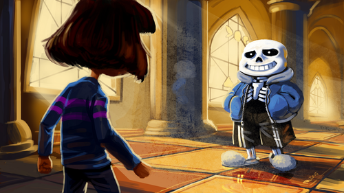 UNDERTALE-The Game wallpaper titled Undertale