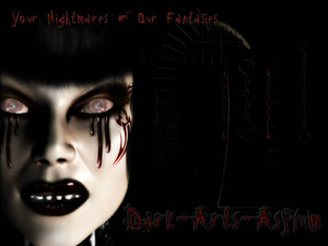 your nightmares our fantsies gothic girl graphic
