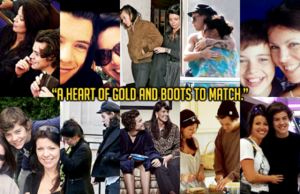 """""""A cœur, coeur of or and Boots To Match."""""""