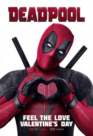 'Deadpool' (2016) Promotional Poster ~ Feel The प्यार