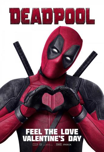 Deadpool (2016) wallpaper titled 'Deadpool' (2016) Promotional Poster ~ Feel The amor