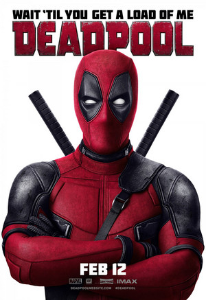 'Deadpool' (2016) Promotional Poster ~ Wait...