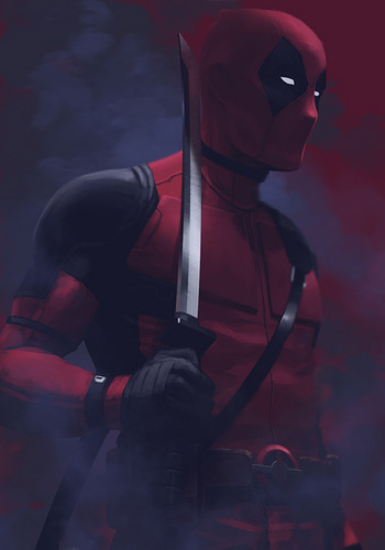 Deadpool (2016) Обои possibly with a diving suit titled --Deadpool--