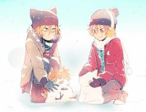 ~Kenma and Hinata~