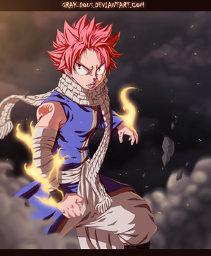 *Long Waited Destiny : Natsu Ready to Fight*