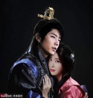 'Moon Lovers' Lee Joon Gi and ইউ edited দ্বারা অনুরাগী