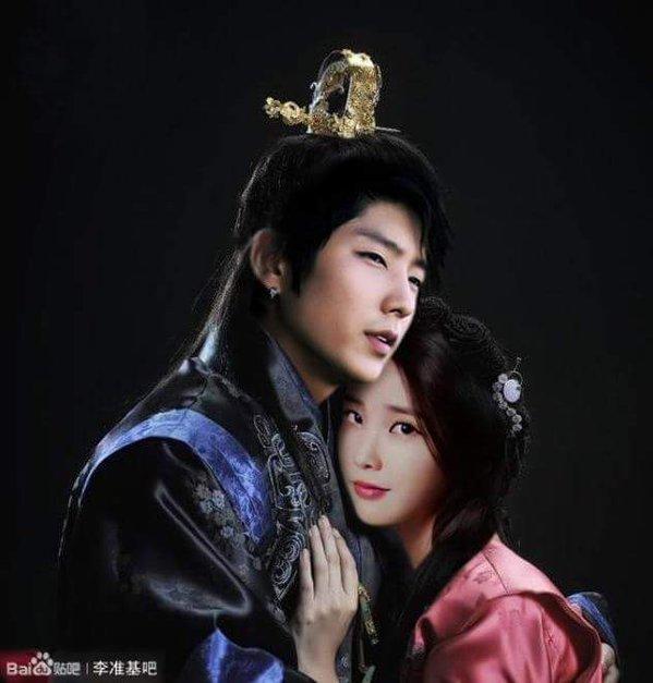 'Moon Lovers' Lee Joon Gi and IU edited by fans