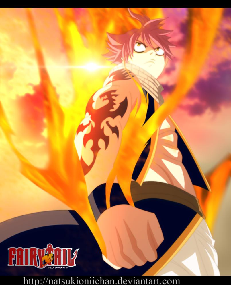 *Natsu Activates Blaze Dragon King Mode*
