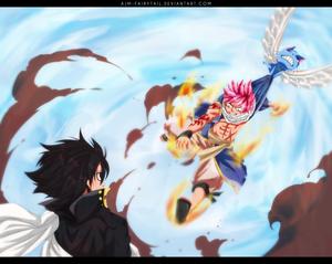 *Natsu's Final Attack*