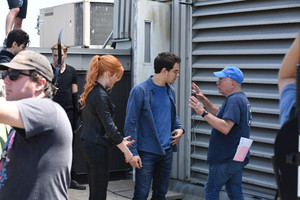 'Shadowhunters' 1x03 Dead Man's Party (behind the scenes)