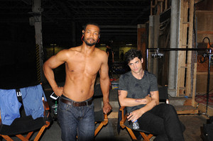 'Shadowhunters' 1x06 Of Men and 천사 (behind the scenes)