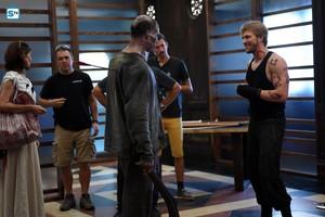 'Shadowhunters' 1x08 Bad Blood (behind the scenes)