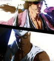 *Shunsui Kyoraku vs Lille Barro* - bleach-anime photo