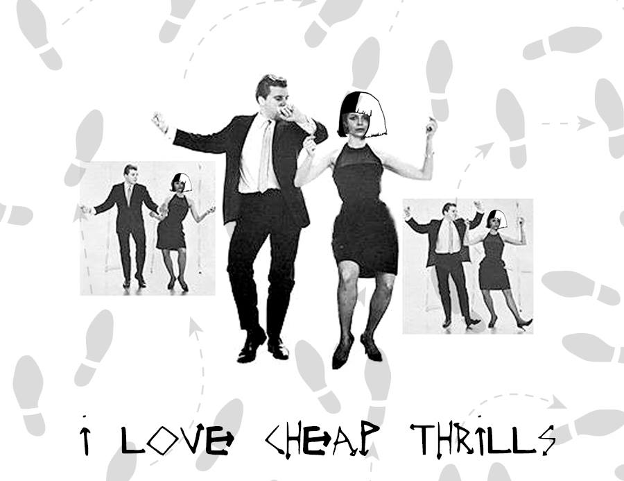 """cheap thrills"" lyric video 02/11/16"