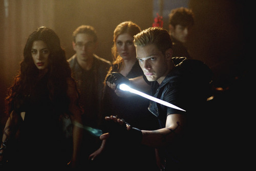 Shadowhunters TV Show wallpaper probably with a show, concerto entitled 1×05: 'Moo Shu To Go'