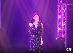 160110 IU at IandU concerto in Taipei