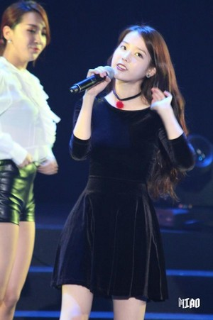 160110 IU at IandU concert in Taipei
