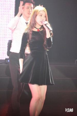 160110 iu at IandU concierto in Taipei