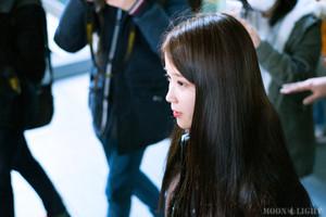 160111 ইউ at Incheon Airport Returning from Taipei