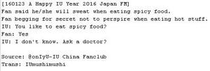 160123 IU at 'A Happy IU Jahr 2016' Fan Meeting in Tokyo