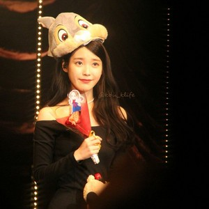 160123 iu at 'A Happy iu ano 2016' fã Meeting in Tokyo