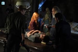 1x08 Bad Blood (behind the scenes)