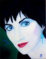 2015 Enya   Acrylic on Canvas 11x14 - enya fan art