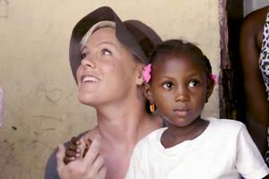 P!nk as UNICEF Ambassador