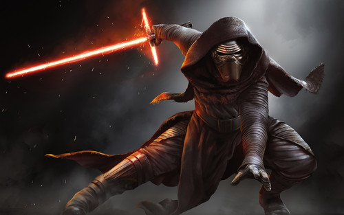 guerra nas estrelas wallpaper containing a breastplate called kylo ren
