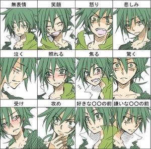 Kyoya's Expressions
