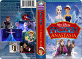 A Walt Disney Masterpiece La Reine des Neiges And The Anastasia VHS Black