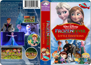 A Walt Disney Masterpiece Nữ hoàng băng giá Fever Adventures Of Little Einsteins The Movie (1999) VHS Black